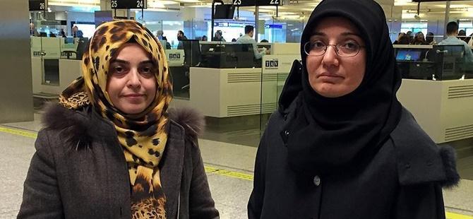 Gülden Sönmez ve Emine Yıldırım Türkiye'ye Geldi