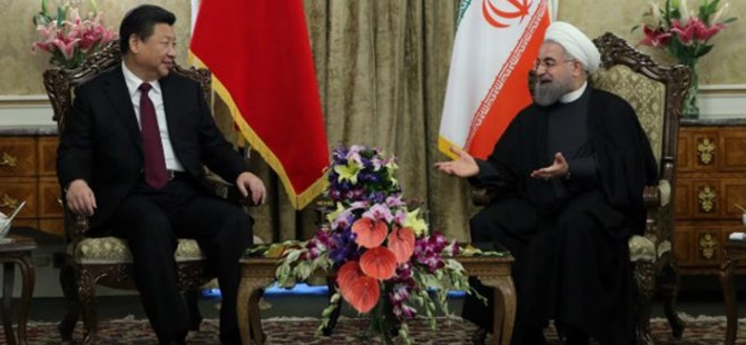 Çin ile İran Arasında 600 Milyar Dolarlık Anlaşma