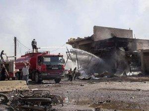 Kamışlı'da İnternet Kafeye Bombalı Saldırı