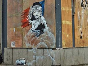 Banksy'den Fransa'ya Mültecilere Yaptığı Müdahaleye Eleştiri!
