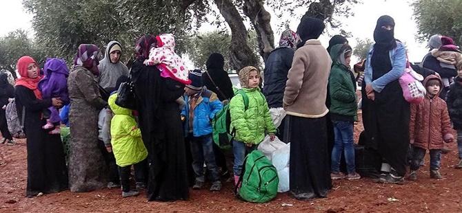 Rusya, Suriye'de 100 Bin Kişiyi Yerinden Etti!
