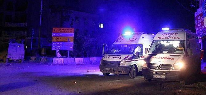 Cizre'de PKK'lılar Yaralıların Kurtarılmasını Engelliyor