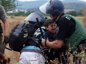 Avrupa'da Mültecilere İnsanlık Dışı Muamele