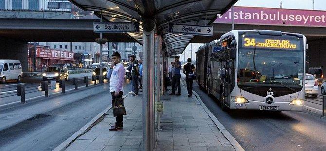İstanbul'da Ücretsiz Ulaşım Perşembeye Kadar Uzatıldı