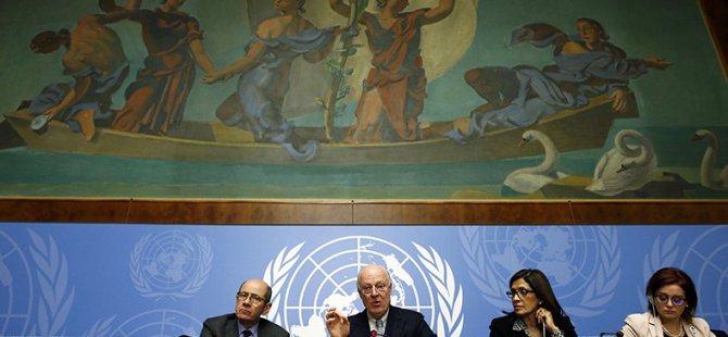 Cenevre-3'de Suriyeli Muhalifler Görüşmesi Başladı