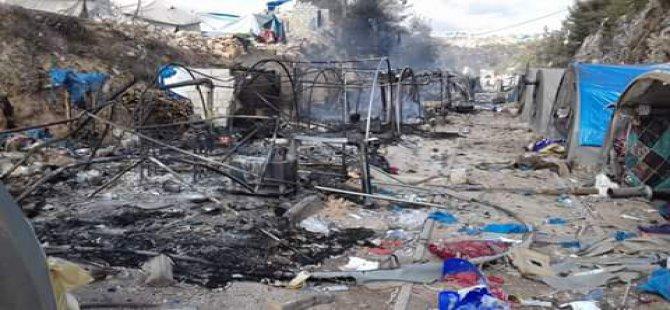 Türkmen Dağı'ndaki Çadır Kentler Bombalandı