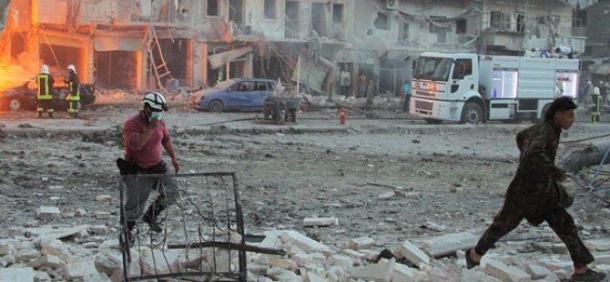 Rejim Güçleri Muaddamiyet eş-Şam'a Zehirli Gaz Yağdırdı