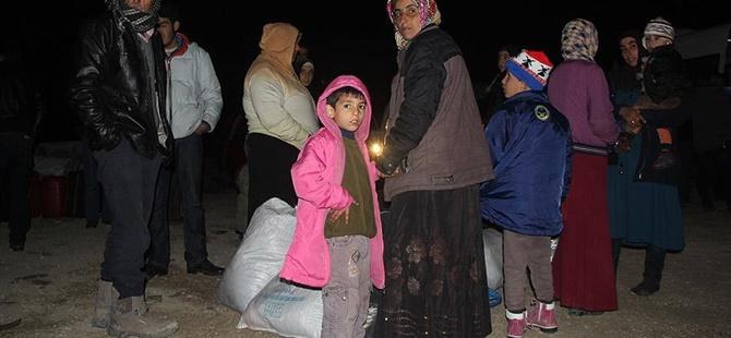 Suriyeli Mülteciler Suruç'taki Çadır Kente Gönderildi