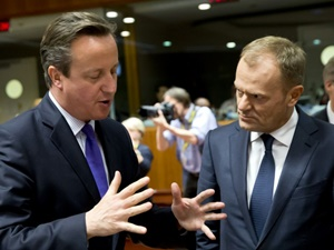 Cameron ile Tusk da Anlaşmaya Varamadı