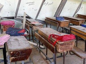 Hizbullah Çetesi Madaya'da İlkokula Saldırdı