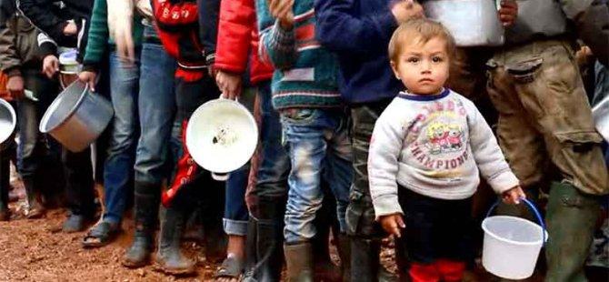 Suriye'de Kuşatma Altında Açlık