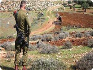 İşgalciler Ya'bud Beldesinde Tarım Arazilerine El Koydu