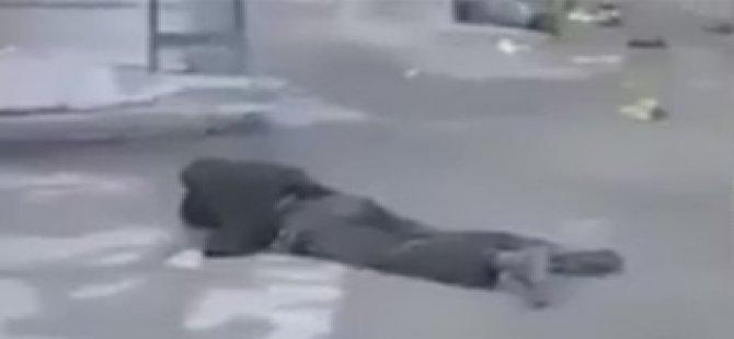 HDP'nin ''Sokaklar Ceset Dolu'' Mizanseni