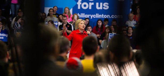 Iowa'da Demokratların Ön Seçimini Clinton Kazandı