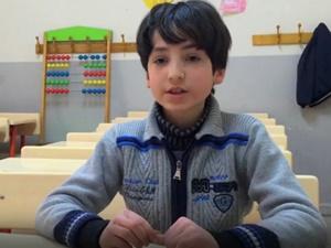 Suriyeli Muhammed Artık Çalışmıyor, Okullu Oldu