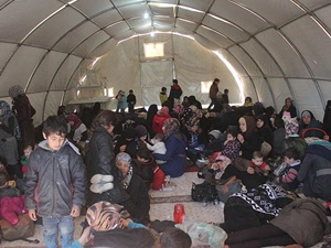 150 Suriyeli Aile Suruç'taki Çadır Kente Yerleştirildi