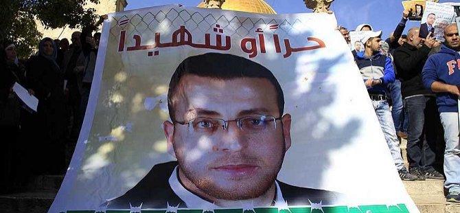 Açlık Grevindeki Filistinli Gazetecinin Nakil Talebine Ret