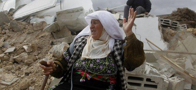 Siyonist İsrail Filistinlilere Ait 23 Evi Yıktı