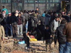 Halep'teki Saldırılar Sonucunda 2 Bin Aile Yerinden Oldu