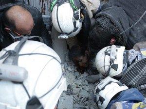 Rus Savaş Uçakları Halep'te Sivilleri Vurdu: 10 Ölü