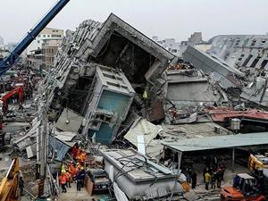 Tayvan'da Deprem: Hayatını Kaybedenlerin Sayısı 43 Oldu