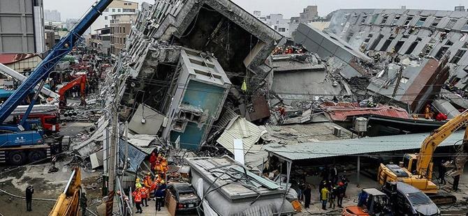 Tayvan'da Deprem: Hayatını Kaybedenlerin Sayısı 94 Oldu