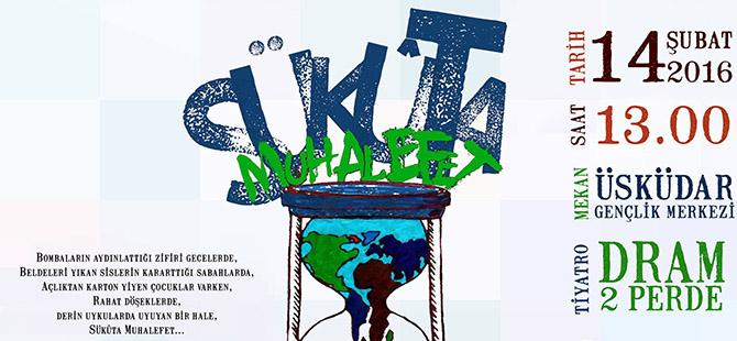 Gençlerden Suriye İçin Tiyatro Gösterisine Davet