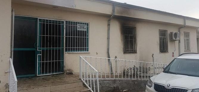 PKK'lılar Aile Sağlığı Merkezine Saldırdı!