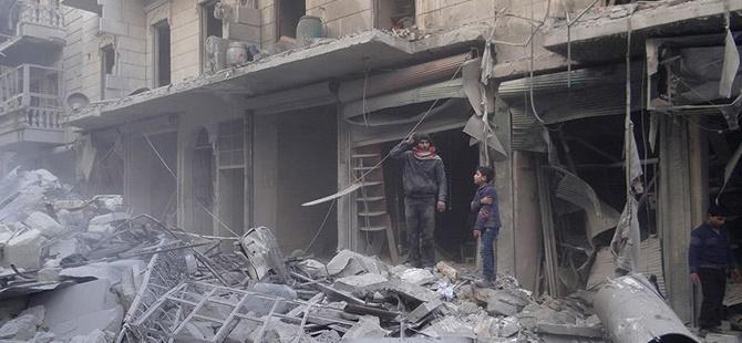 Rusya Halep'te Yine Sivilleri Vurdu: 10 Kişi Katledildi!