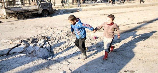 Halep Rus Bombardımanı Altında