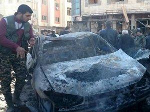 Şam'da Polis Lokaline Saldırı