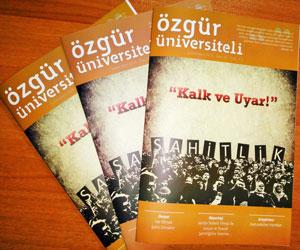 Özgür Üniversiteli Dergisinin 36. Sayısı Çıktı!