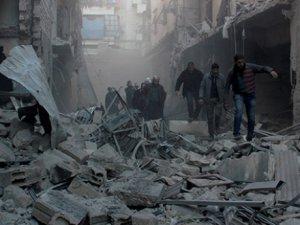 Rus ve Esed Jetlerinden Dera'ya Hava Saldırısı