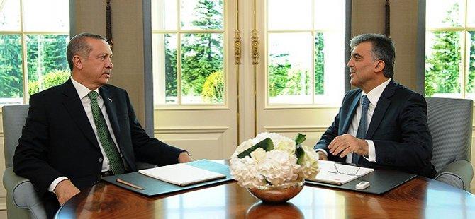 Erdoğan ve Gül 3 Saat Görüştü
