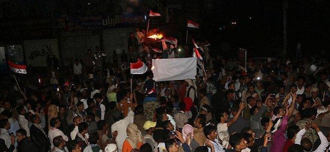 Yemen'de '11 Şubat Devrimi'nin Yıl Dönümü