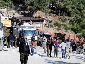 Türkmendağı'nda Direnişçiler Bazı Noktaları Ele Geçirdi