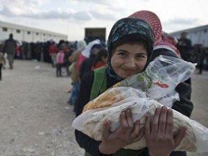 Rus Bombardımanından Kaçan Halepliler