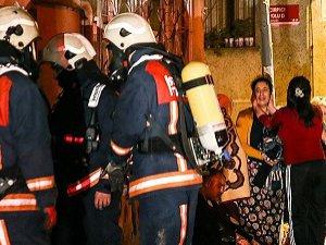 Suriyeli Ailenin Kaldığı Evde Yangın Çıktı