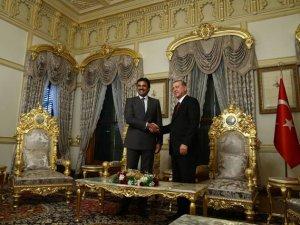 Katar Emiri Erdoğan'la Suriye'yi Konuştu