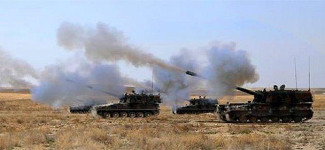 Türkiye YPG/PYD'yi Vurdu!