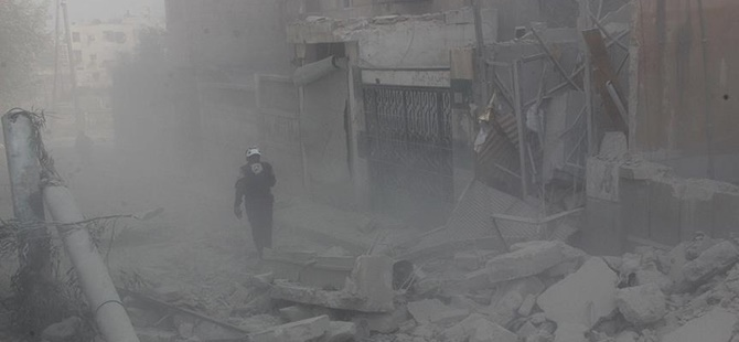 Rusya Halep'te Yerleşim Yerini Vurdu: 10 Sivil Katledildi!
