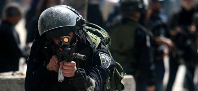İşgalci İsrail Askerleri 16 Filistinliyi Yaraladı!