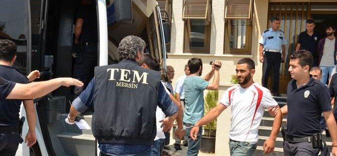 Mersin'de PKK Operasyonu: 62 Gözaltı