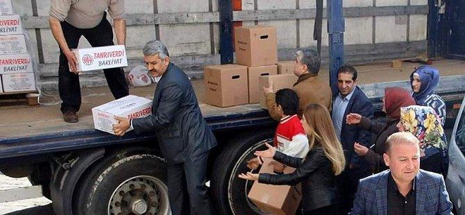 Mardin'de Şiddet Mağdurlarına Yardım
