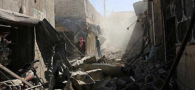 """""""Rus Uçakları Hastalar Nakledilirken Azez'i Vurmaya Devam Etti"""""""