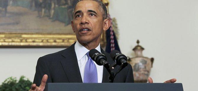 Obama: YPG'nin İlerleyişi Kaygı Verici