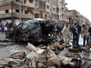 Humus'ta Bombalı Araçlarla Saldırı: 40 Ölü