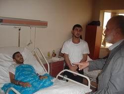 11 Gazze Gönüllüsü Taburcu Edildi