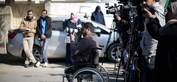 İsrail'in 'Engelli Bıraktığı' Filistinli Foto Muhabirinin Azmi