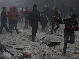 Rusya Etarib'de Sivilleri Vurdu: 4 Kişi Katledildi!